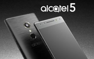 Alcatel 5 5086D — цена и характеристики
