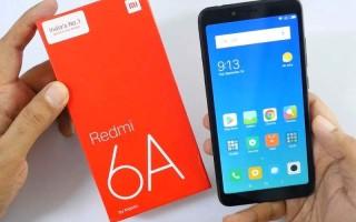 Xiaomi Redmi 6A- цена, характеристики