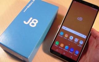 Samsung Galaxy J8 — цена, характеристики