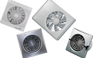 ТОП-5 лучших вытяжных вентиляторов в ванную