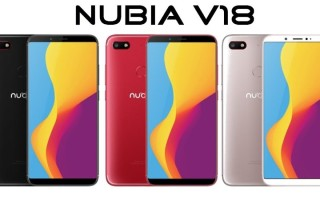 Nubia V18 — цена и характеристики