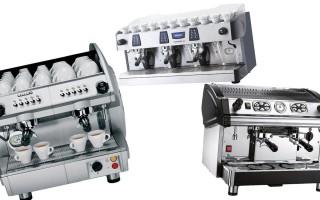 Рейтинг профессиональных кофемашин для кофейни