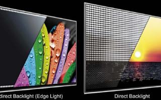Светодиодные подстветки Direct LED и Edge LED: что это такое и что лучше
