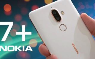 Nokia 7 Plus — цена и характеристики