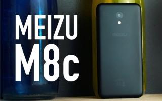 Meizu M8c — цена и характеристики