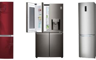 Рейтинг лучших моделей холодильников LG