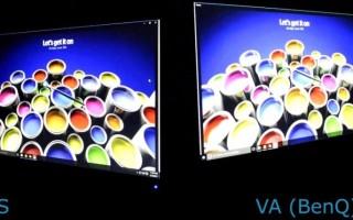 Какая матрица лучше в телевизоре — IPS или VA?