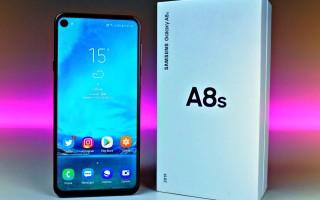 Samsung Galaxy A8s — цена и характеристики