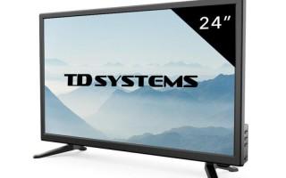 Обзор телевизоров небольшого размера с диагональю 24 дюйма
