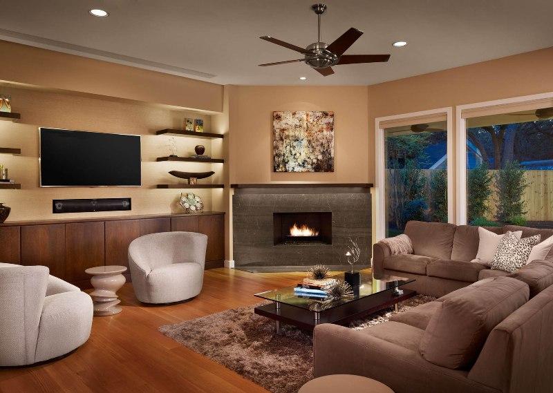 подбирать телевизор нужно с учетом размера комнаты