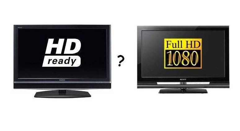 отличие HD Ready от Full HD