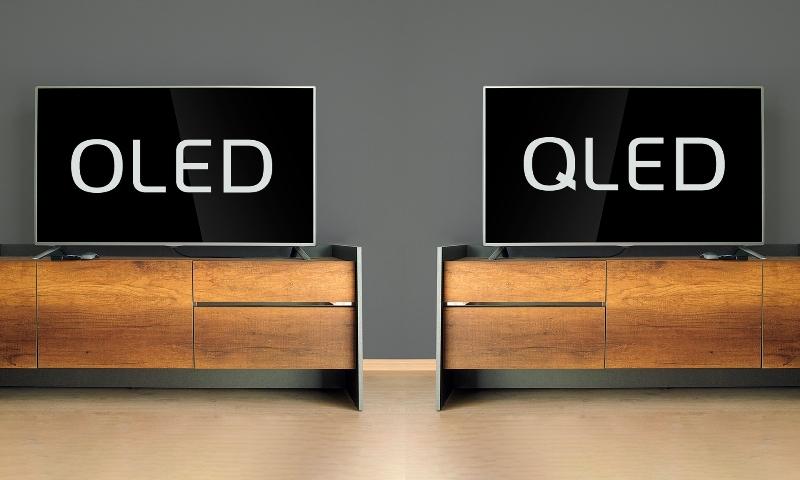 OLED или QLED дисплей