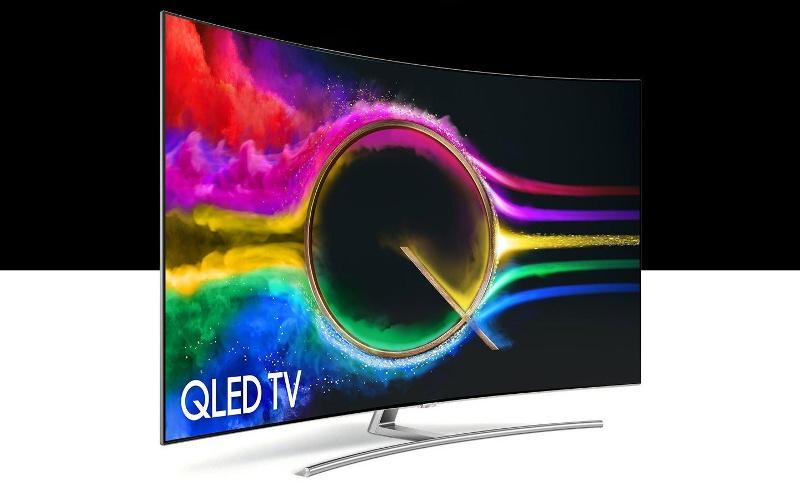 Qled экран телевизора