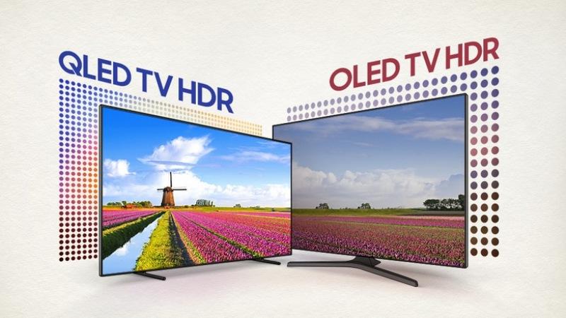 OLED и QLED телевизоры