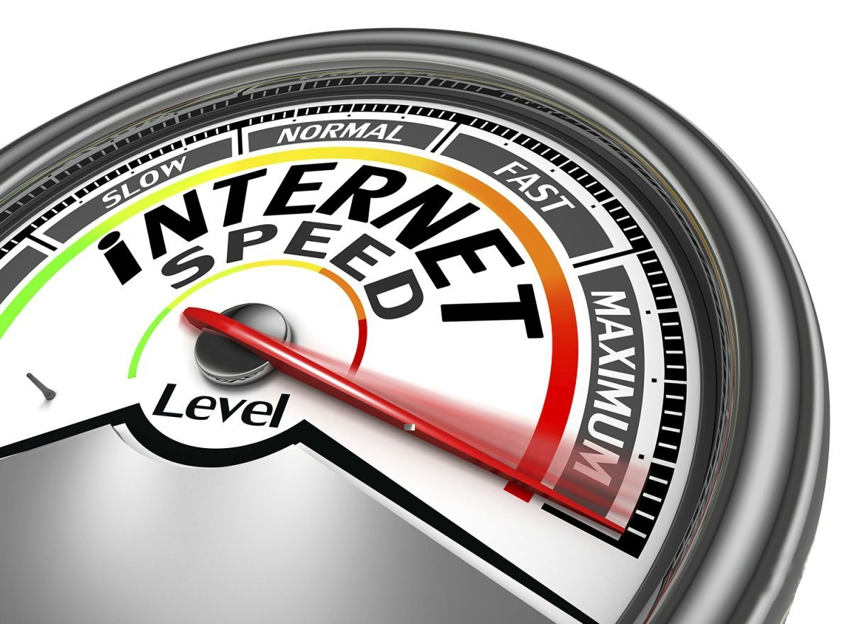 скорость интернет соединения