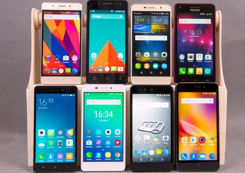 Недорогие смартфоны с мощным аккумулятором
