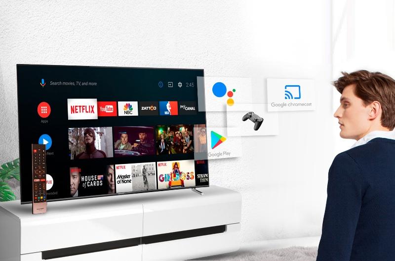 Smart TV с голосовым управлением