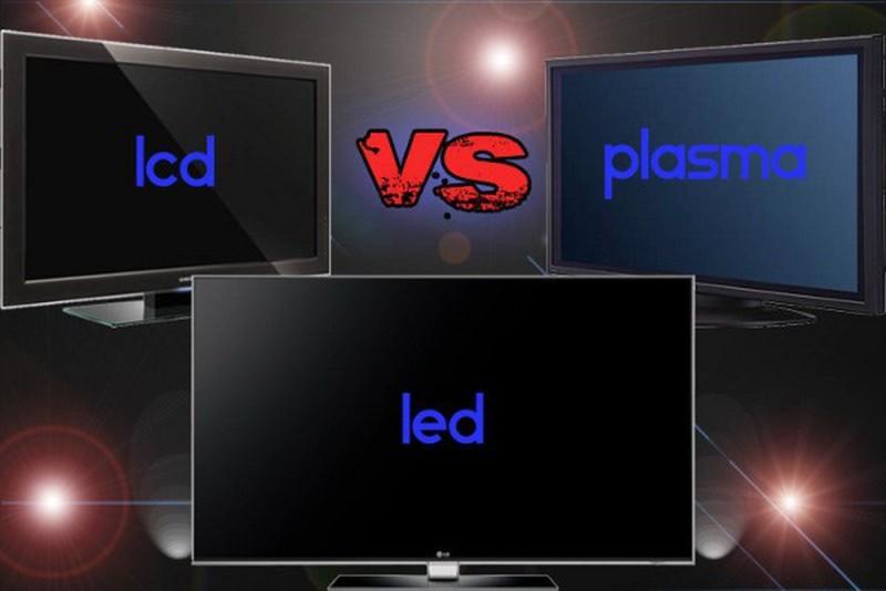 виды экранов телевизоров