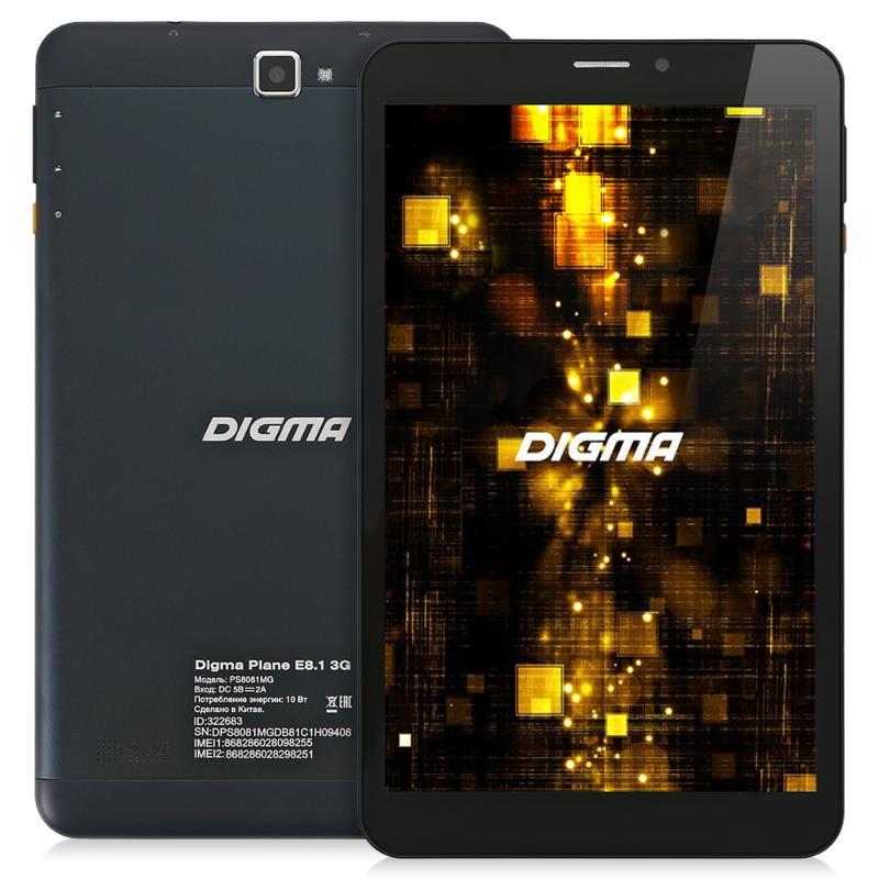 планшет Digma Plane E8 1 3G