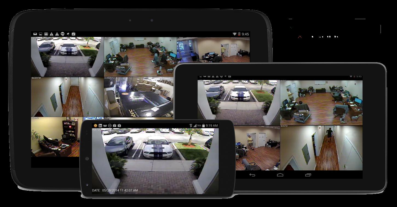 видеонаблюдение для смартфонов