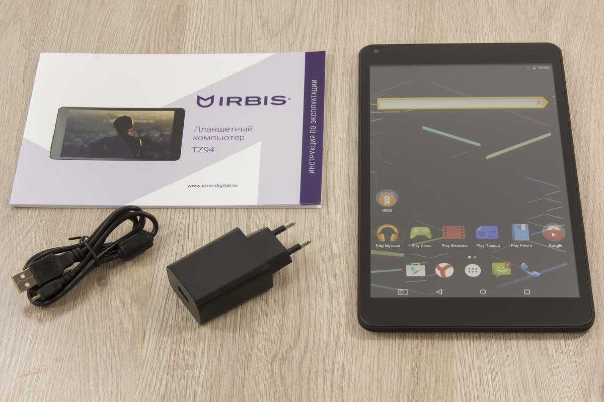 планшет Irbis TZ726