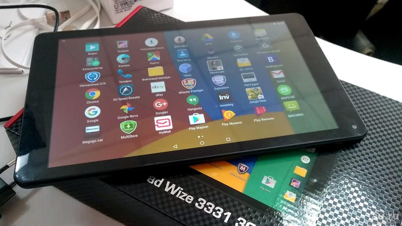 планшет Prestigio Wize PMT3161C 3G – 5 990 ₽