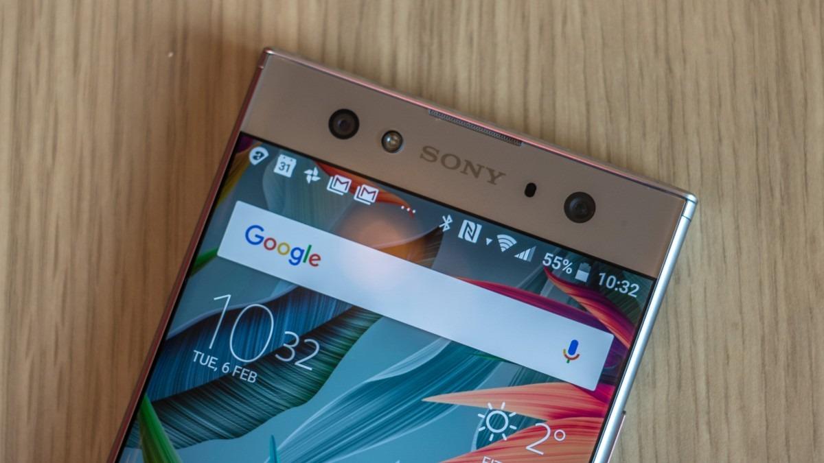 Верхнее меню Sony Xperia XA2 Ultra Dual
