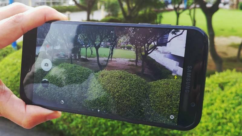 Galaxy a8 камера