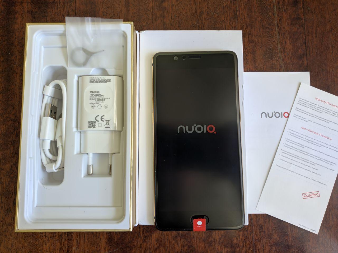 Комплектация Nubia M2 64GB