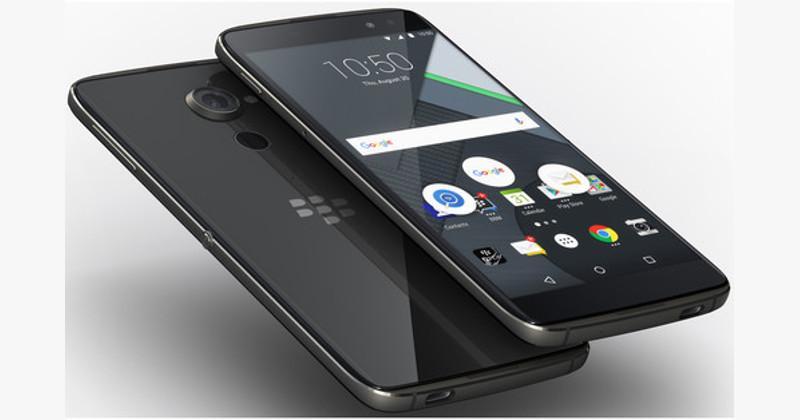 Передняя и задняя панели у BlackBerry DTEK60 стеклянные