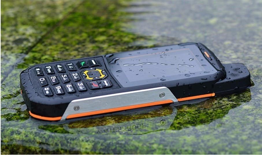 Противоударные, водонепроницаемые телефоны Texet