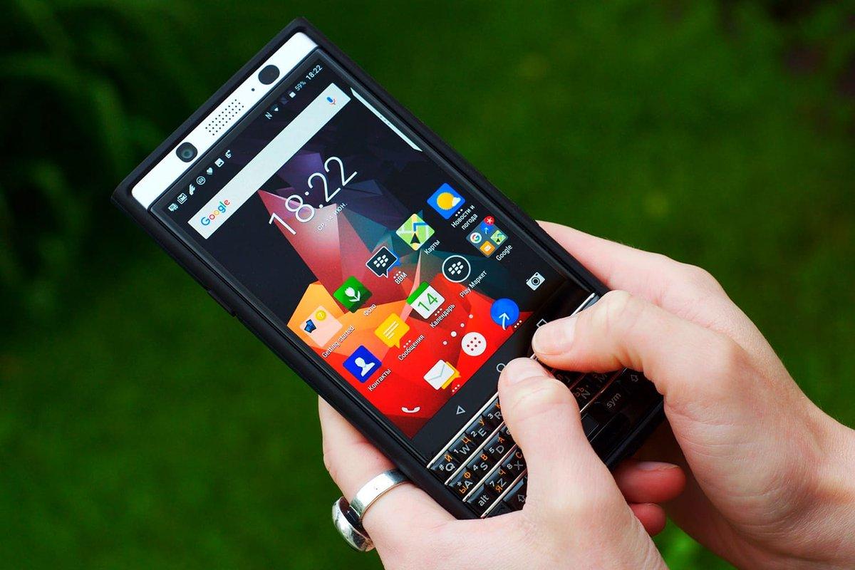 Удобная клавиатура BlackBerry KEYone