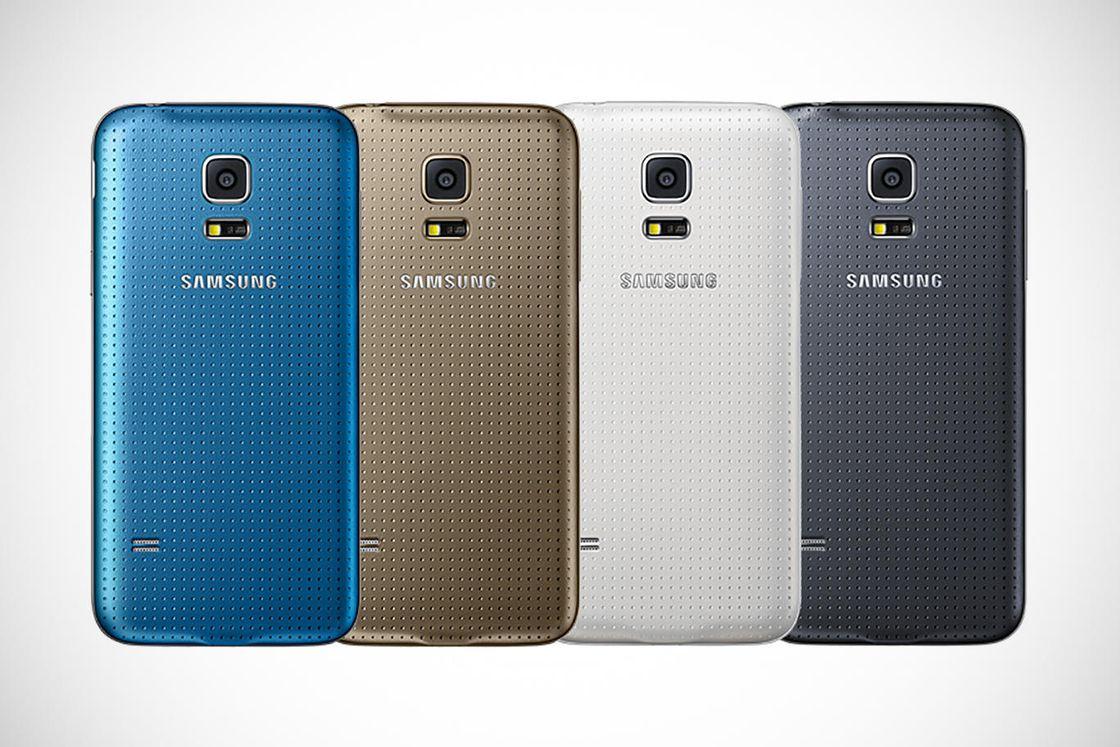 Цветовая палитра Samsung Galaxy S5 mini