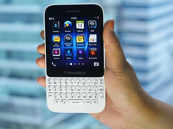 Экран BlackBerry Q5
