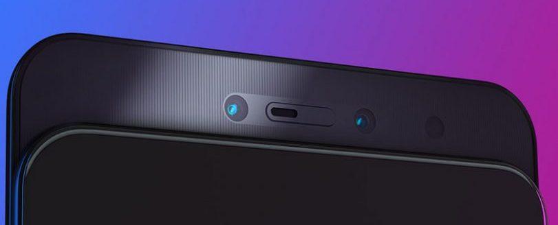 Двойная фронтальная камера Lenovo Z5 Pro