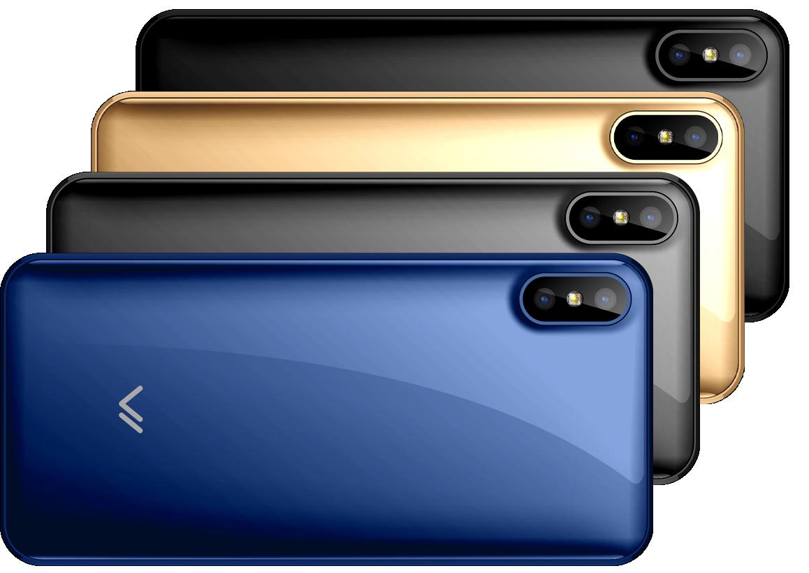 Цветовая палитра смартфона