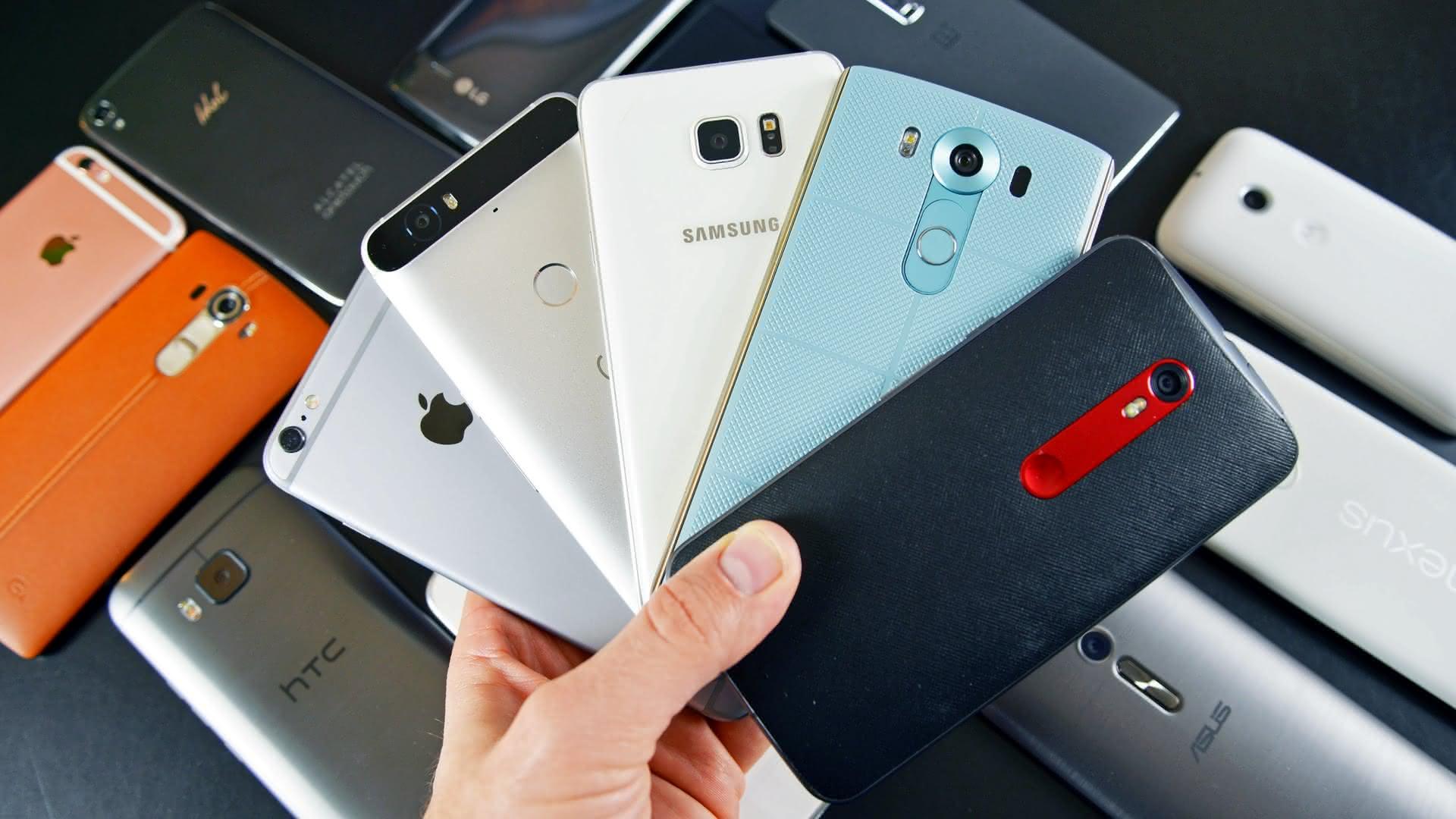 Самые топовые смартфоны