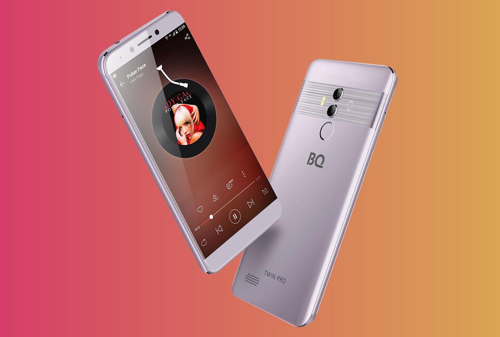 Новые модели телефонов BQ