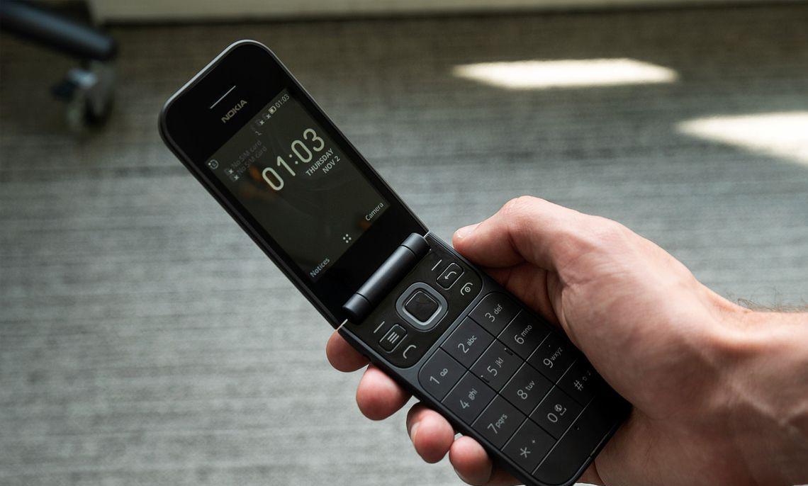 Мобильные телефоны-раскладушки