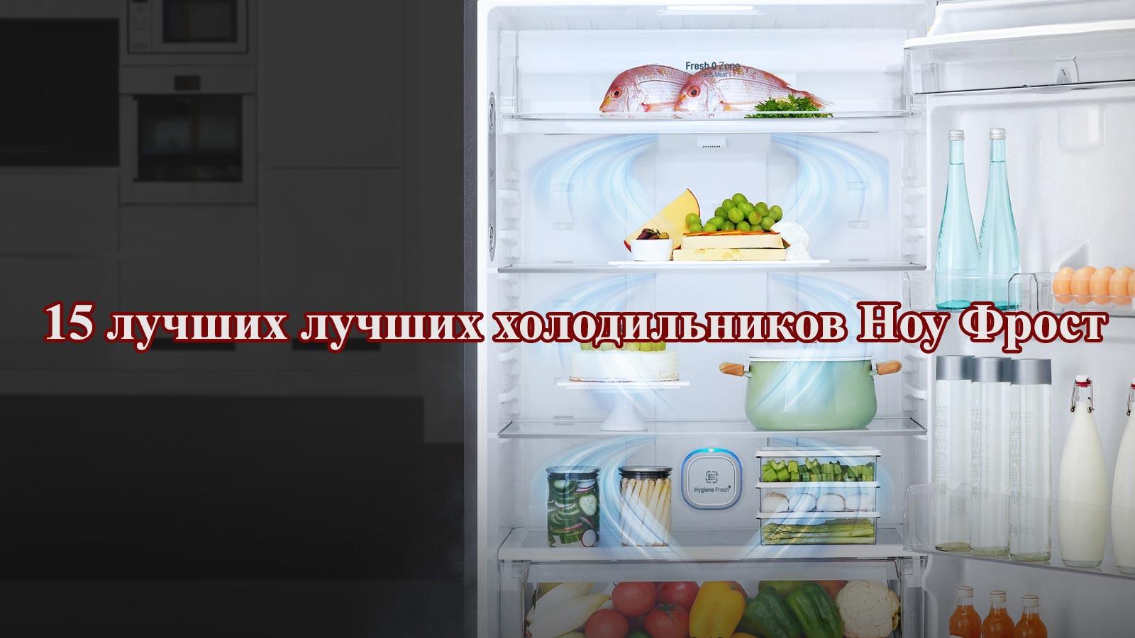 15 лучших лучших холодильников Ноу Фрост