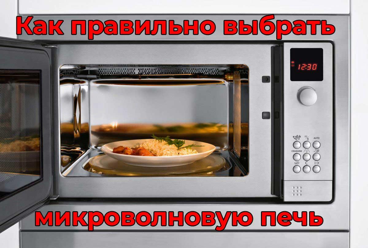Как правильно выбрать микроволновую печь