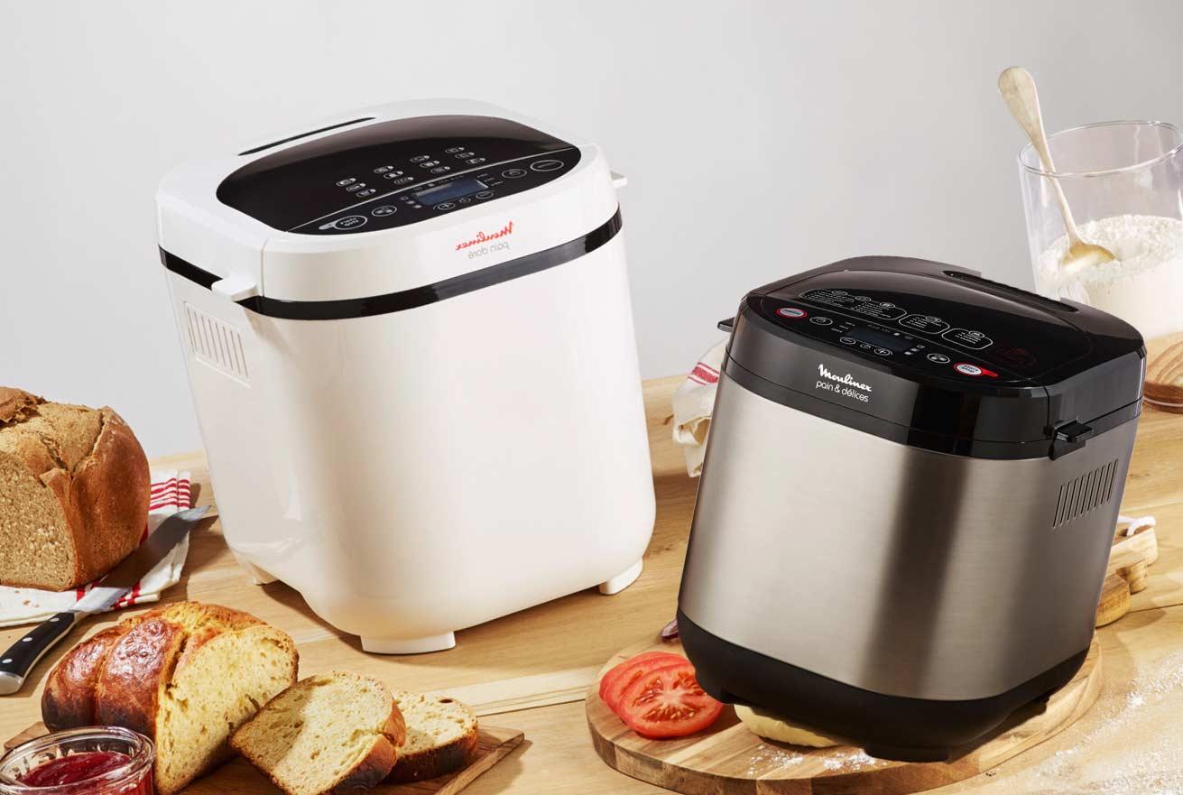 ТОП-6 лучших хлебопечек от производителя Moulinex