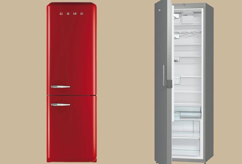 Лучшие узкие холодильники от 40 см до 50 см