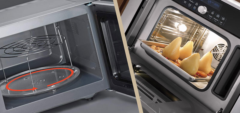 ТОП-5 микроволновых печей с грилем и конвекцией