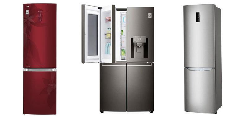 Рейтинг лучших моделей холодильников LG с отзывами