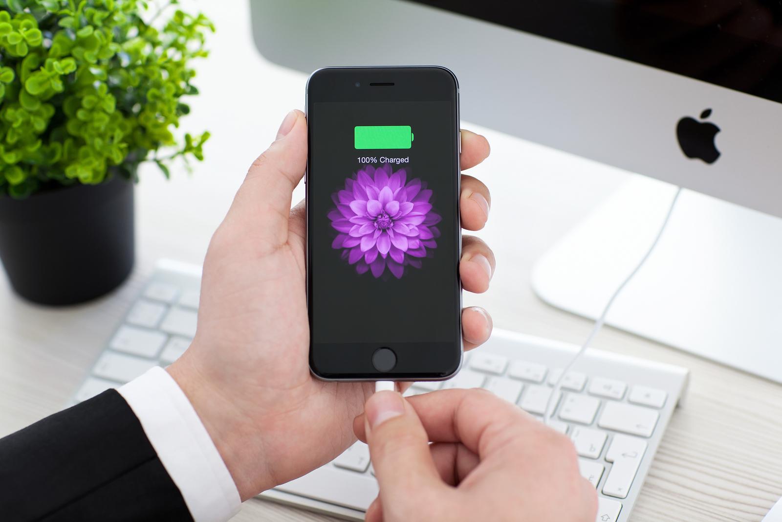 Зарядка нового телефона