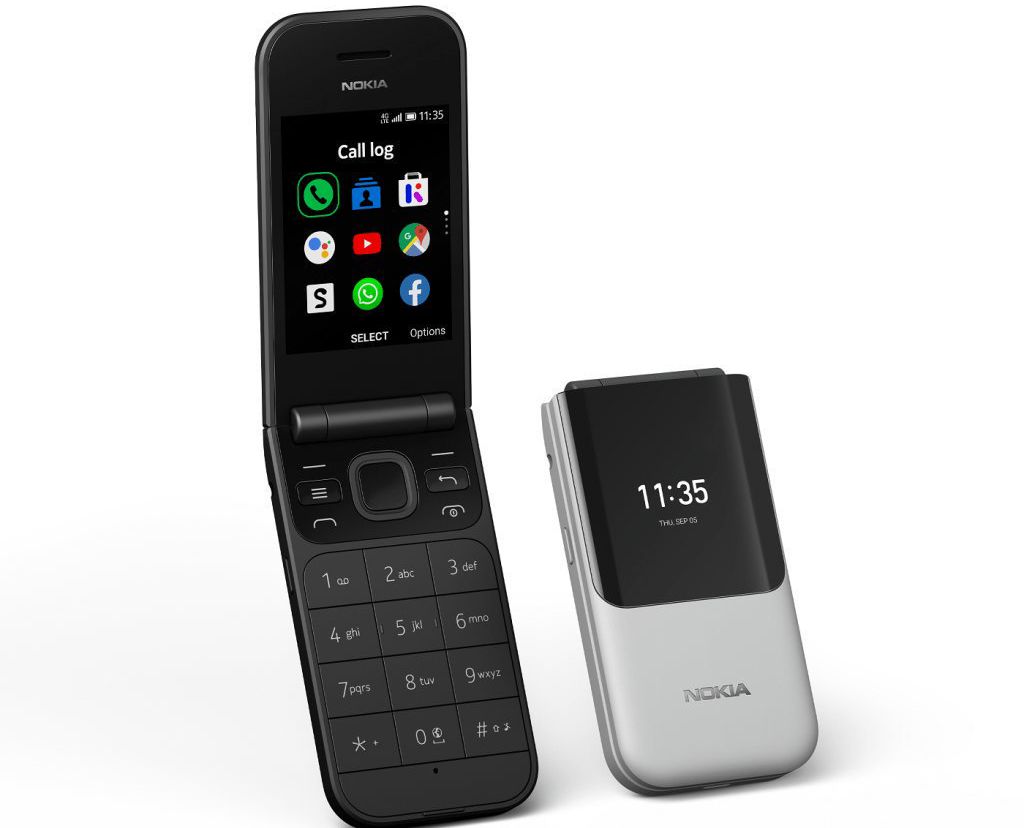 Телефон Nokia 2720 Flip Dual Sim