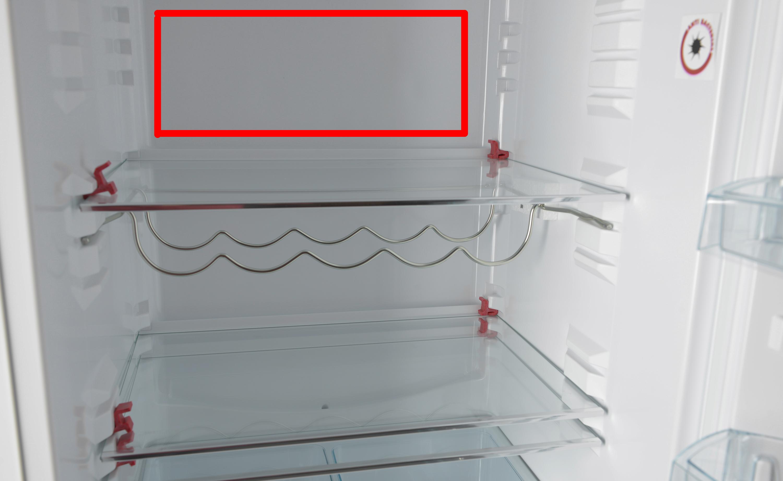На какой полке холоднее в двухкамерном холодильнике
