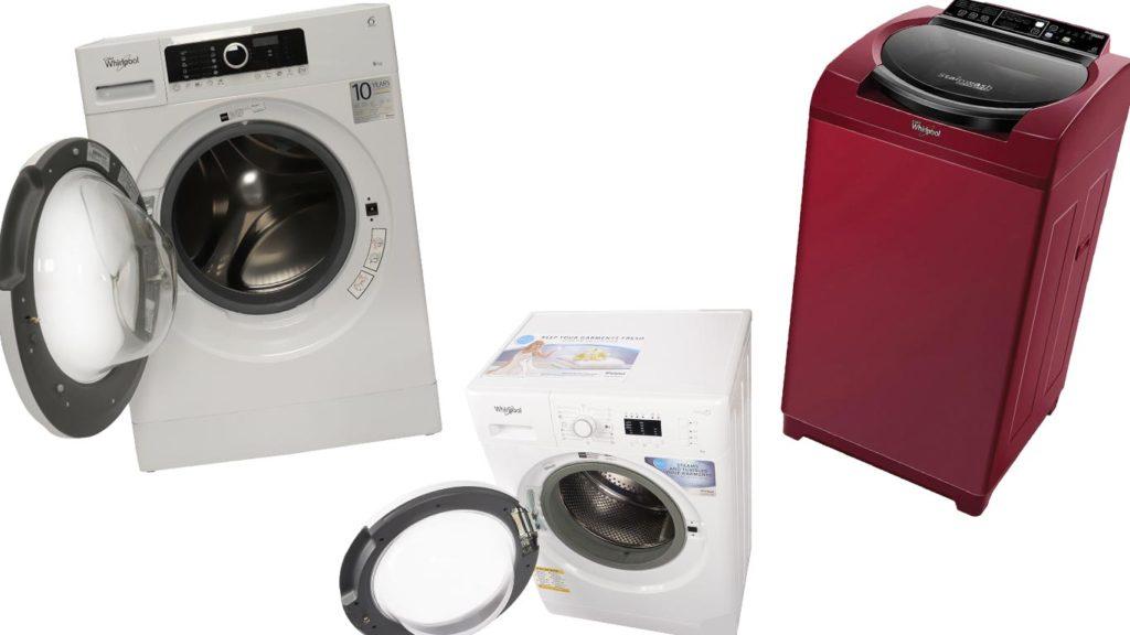 ТОП-5 лучших стиральных машин Вирпул