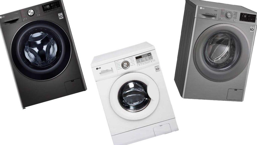 ТОП-5 стиральных машин LG